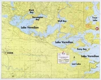 F-1: West Lake Vermilion, Trout Lake, Lost Lake