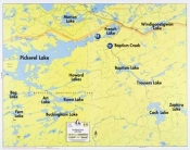 F-30: East Pickerel Lake, French Lake, Cash Lake