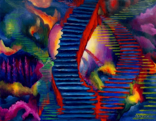 Stairways by Joe Baltich
