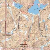 McKenzie Map 12 - Moose River and Stuart Lake
