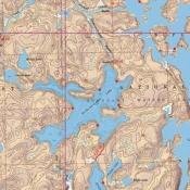 McKenzie Map 13 - Lac La Croix Lake