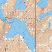 McKenzie Map 18 - Lake One and Bald Eagle Lakes