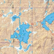 McKenzie Map 20 - Alton and Perent Lakes