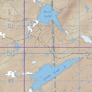 McKenzie Map 22 - Arrow and Sandstone Lakes