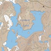 McKenzie Map 23 - Iron Range, Canthook and Jinx Lakes