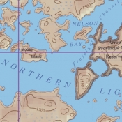 McKenzie Map 24 - Northern Light Lake