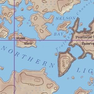 McKenzie Map 24 - Northern Light Lake