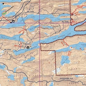 McKenzie Map 2 - East Bearskin, Clearwater and Alder Lakes