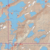 McKenzie Map 35 - Sturgeon, Burntside and Jean Lakes