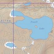 McKenzie Map 38 - Powell Lake, Obadinaw and Wawiag Rivers