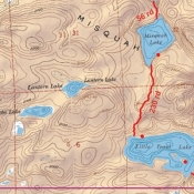 McKenzie Map 3 - Ball Club, Winchell and Poplar Lakes