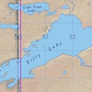 McKenzie Map 41 - Tilly, Windigoostigwan