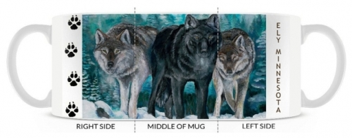 Winter Wolves from Original Art of Joe Baltich